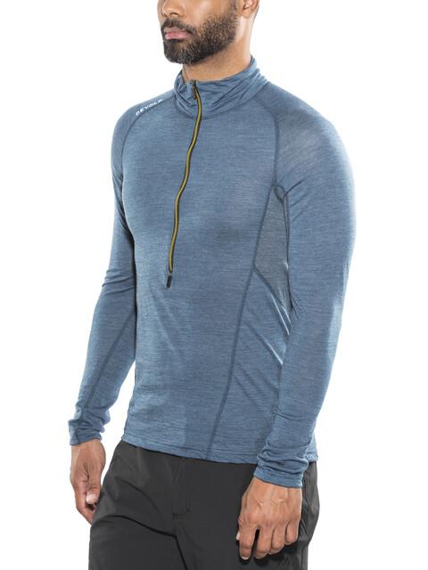 Devold M's Running Zip Neck LS Shirt Subsea